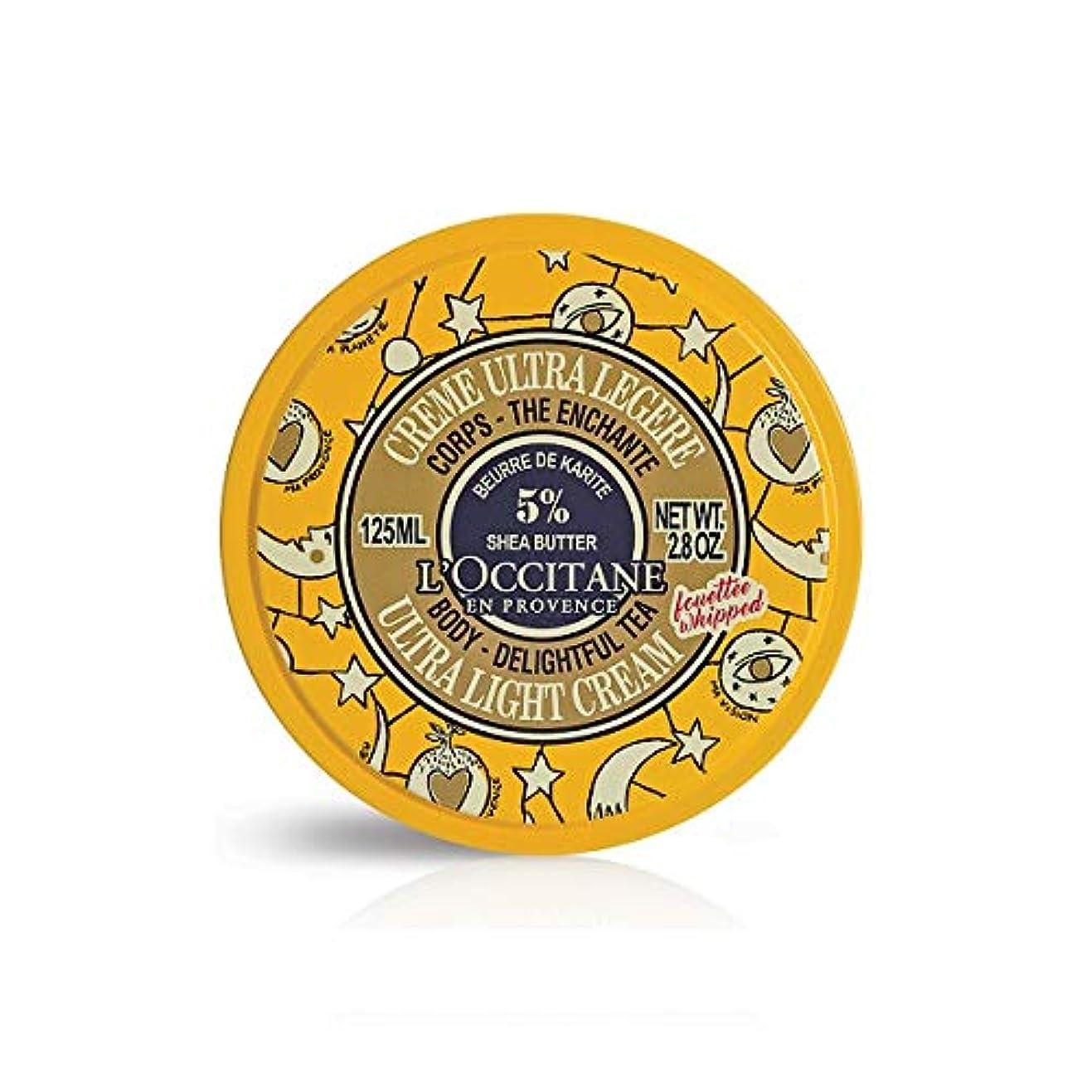 呪い受粉するいじめっ子ロクシタン(L'OCCITANE) ジョイフルスター スノーシア ボディクリーム(ディライトフルティー) 125ml