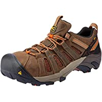 KEEN Shoes Men's Flint Industrial & Construction (Shoes), Shitake and Rust