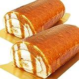 北海道塩キャラメルロールケーキ 2本