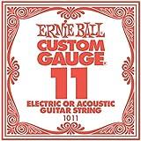 【国内正規輸入品】Ernie Ball アーニーボール #1011 バラ弦 11 6本セット