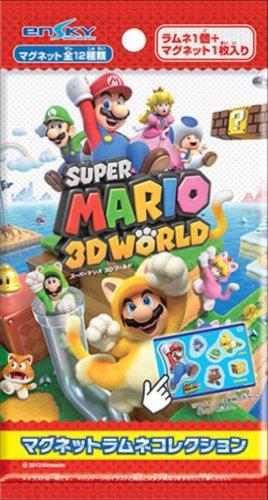 スーパーマリオ 3Dワールド マグネットラムネコレクション 20個入りBOX(食玩)