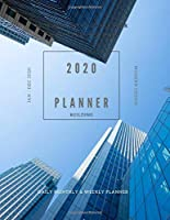 Journal Happy Day Planner Yearly Calendar 2020: Daily Weekly And Monthly Organizer Academic Planner Hourly Date Art Book Building Themes