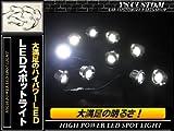 新型の連結型♪ 防水 超高輝度 LED スポットライト/ホワイト/埋込み 埋め込み アンダースポット ライト