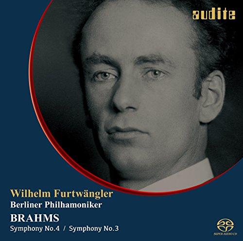 ブラームス : 交響曲第3番、4番  (Brahms : Symphony No.3 & 4 / Wilhelm Furtwangler | Berliner Philharmoniker) [SACD シングルレイヤー] [日本語帯・解説付]