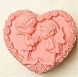 Love Little Kids Silicone Fondant Cookie Cake Decorating Baking Mold Tools