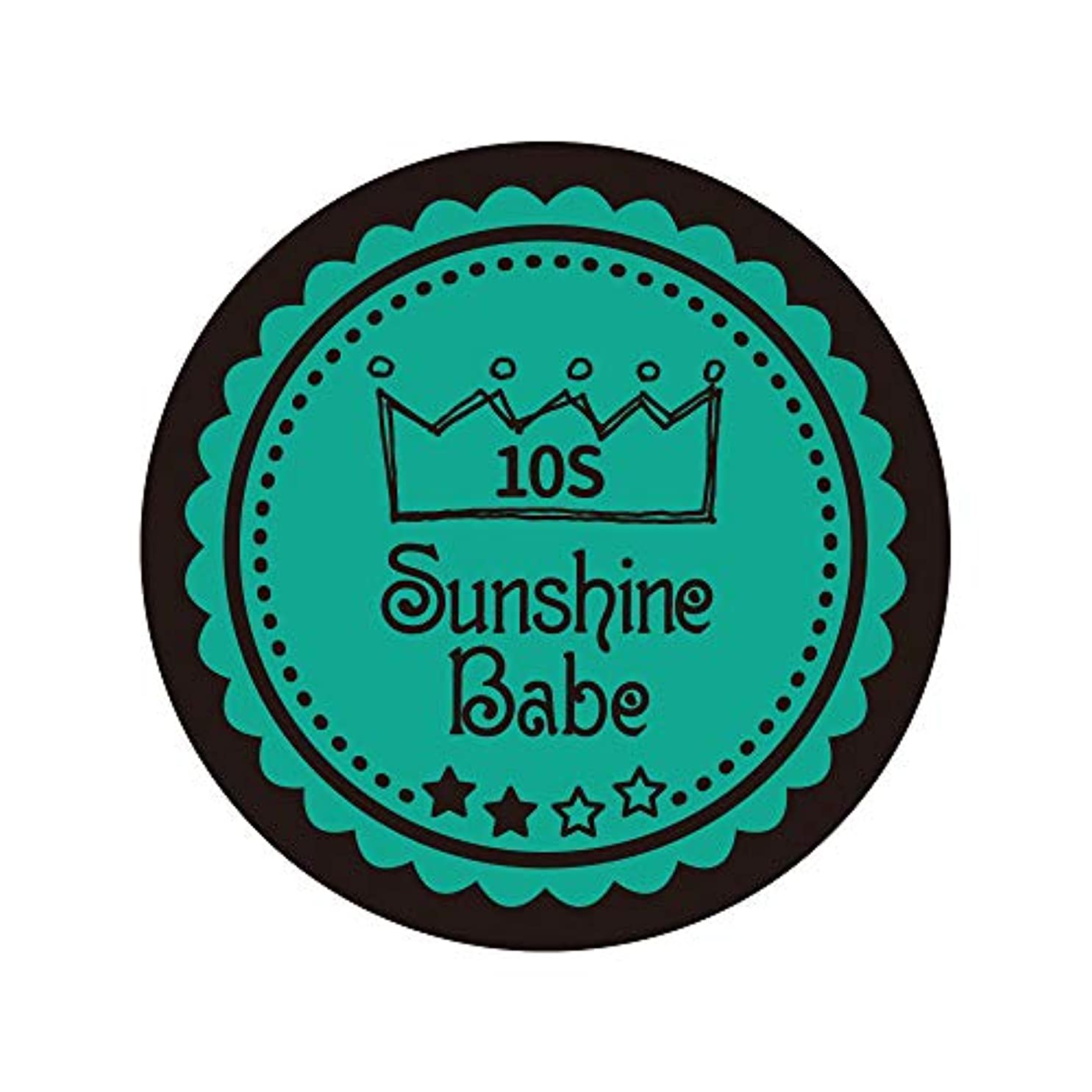 公腸ラップSunshine Babe カラージェル 10S アルカディア 2.7g UV/LED対応