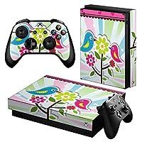 igsticker Xbox One X 専用 スキンシール 正面・天面・底面・コントローラー 全面セット エックスボックス シール 保護 フィルム ステッカー 004573