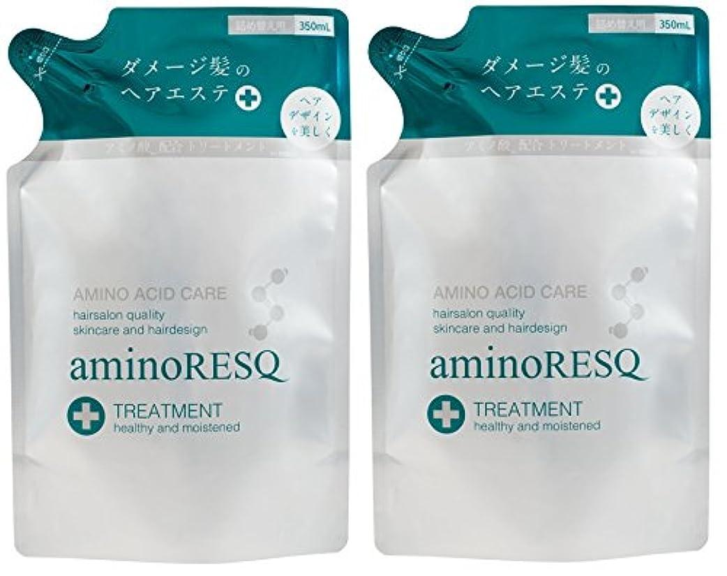 効果的自由メロン【2個セット】aminoRESQ アミノレスキュー トリートメント詰替
