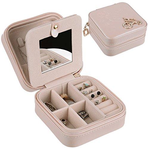 アクセサリー 収納 ジュエリーボックス 携帯用 ピアス