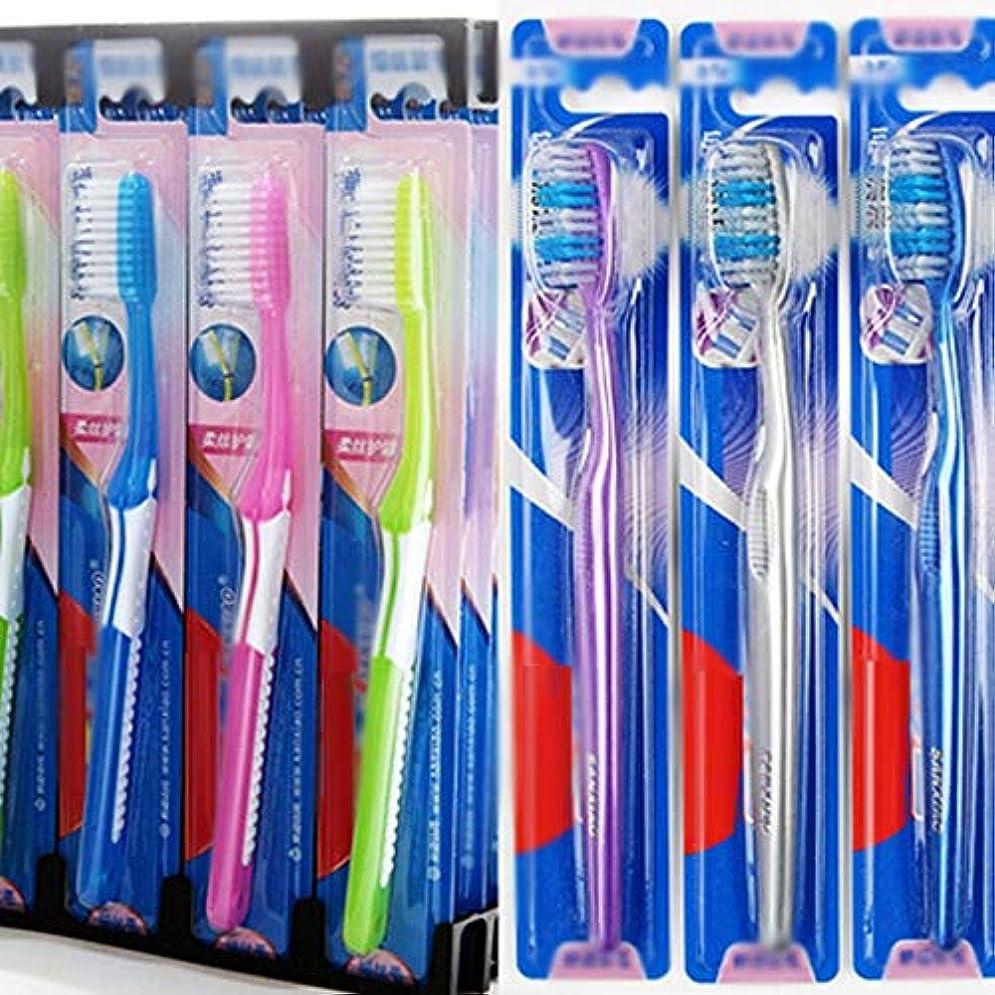 クラシック義務的電圧歯ブラシ 30本のバルク歯ブラシ、ソフト毛歯ブラシ、歯科衛生の深いクリーニング - 使用可能なスタイルの3種類 HL (色 : A, サイズ : 30 packs)