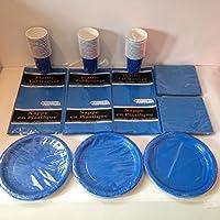 40名様用ロイヤルブルー食器パック