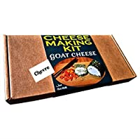 Cheese Making KIT Premium Goat Cheese CHEVRE = Great Gift Present = Make Your Own Cheese