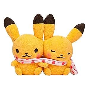 ポケモンセンターオリジナル ピカチュウペアぬいぐるみ Pokémon little tales [muffler]