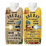 【キャンペーンシール付】 ONEDAY ALMOND SOYPROTEIN+ONEDAY Energy Banana
