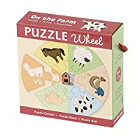 Mudpuppy On the Farm Puzzle Wheel [並行輸入品]
