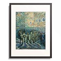 フィンセント・ファン・ゴッホ Vincent Willem van Gogh 「The Exercise Yard. 1890」 額装アート作品