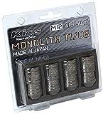 KYO-EI(協永産業) Kics MONOLITH(モノリス) T1/06 サイズ:M12XP1.25 Glorious Black グロリアスブラック 4個入 MN03GK-4P