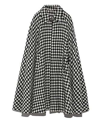 [リリーブラウン] ロングケープコート LWFC194188 レディース BLK 日本 F (FREE サイズ)