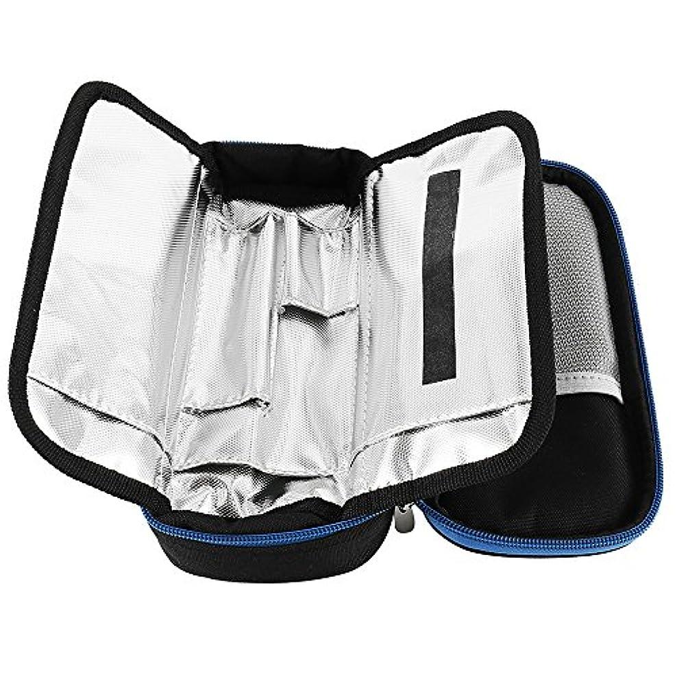 駐地女優式SeagullWaves インスリンポーチ インスリンバッグ インスリンクーラー アウトドア 旅行用 出張保冷 携帯に便利