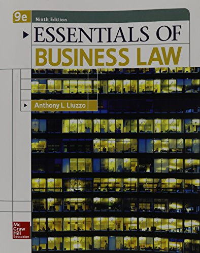 essentials for business law This model of the essentials of business law program is a wise, concise, and broad-based introduction to the colorful space of business regulation.