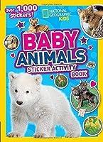 Baby Animals Sticker Activity Book: Over 1,000 Stickers!