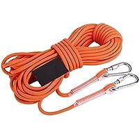 Robag直径12 mmアウトドア登山クライミングロープ緊急サバイバル安全ロープハイキング機器
