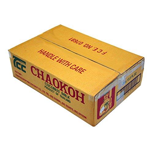 箱売り チャオコー ココナッツミルク 400ml×24缶 CHAOKOH