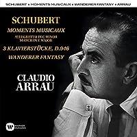Schubert: Moments Musicaux, Klavierstucke, Wanderer by Claudio Arrau