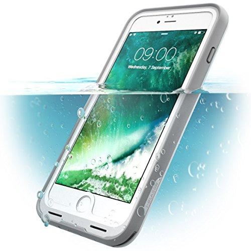 i-blason iPhone7/7plus ケース 完全防水 全面保護 360度フルカバー スクリーンプロテクター 付属 (Apple iphone7plus, ホワイト)