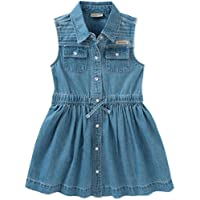 Calvin Klein Girls Denim Dress