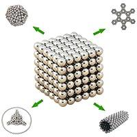 マグネットボール 球型 216個セット?5mm? いろんな形に変幻自在! 世界一強力なネオジム磁石の立体パズル!