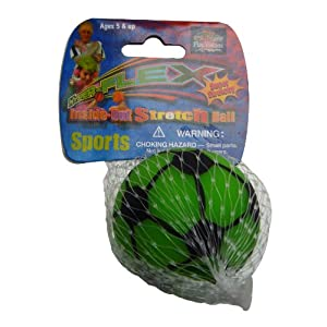 ラングスジャパン(RANGS) ハイパーフレックス ストレッチボール小 サッカーグリーン ハンドルアクセサリー