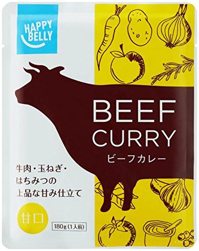 Happy Belly ビーフカレー 甘口 180g×15個