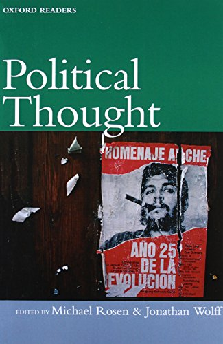 Download Political Thought (Oxford Readers) 0192892789