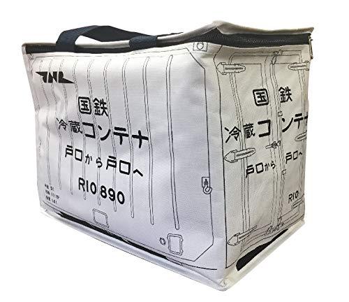 ポポンデッタの鉄道グッズ 国鉄冷蔵コンテナバッグ (保冷)