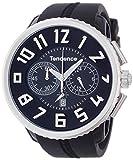 [テンデンス]Tendence 腕時計 ガリバーラウンド クロノ ブラック文字盤 TG046013  【正規輸入品】