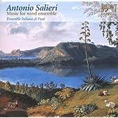 Antonio Salieri:Music for wind ensemble(サリエリ:ウィンドアンサンブルの為の作品集)