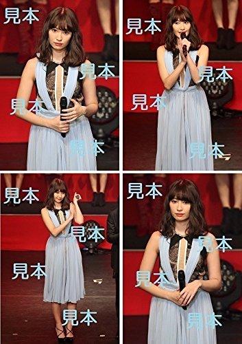 小嶋陽菜『?AKB48紅白対抗歌合戦?』生写真4枚