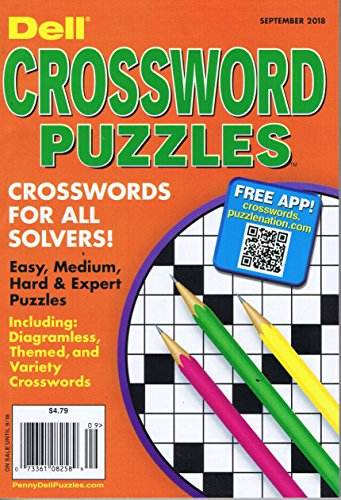 Dell Pocket Crossword Puzzle [US] September 2018 (...