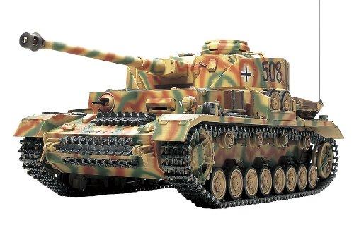 1/16 ラジオコントロールタンクシリーズ No.25 ドイツ IV号戦車J型 フルオペレーションセット (プロポ付)