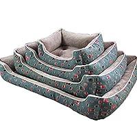 ペット用ベッド 小中大型犬 クッション 柔らかい 丈夫 コンフォート 暖か ネコ 防水 防湿 滑り止め 綿がたっぷり入る 清潔 洗濯簡単 オールシーズン対応