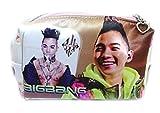 BIGBANG(ビッグバン)SOL両面写真入りポーチ ジッパー式
