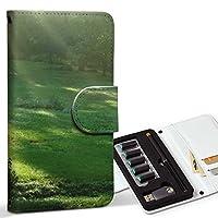 スマコレ ploom TECH プルームテック 専用 レザーケース 手帳型 タバコ ケース カバー 合皮 ケース カバー 収納 プルームケース デザイン 革 写真・風景 森 写真 景色 004644