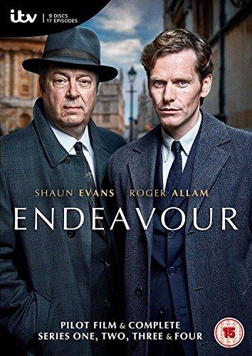 Endeavour Series 1-4 [DVD][PAL...