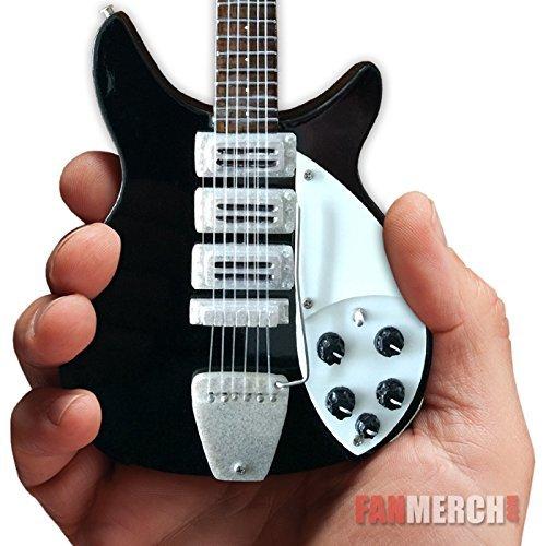 John Lennon Beatles ジョンレノン リッケンバッカー ミニギター レプリカ Miniature Guitar From The Ed Sullivan Show[並行輸入]