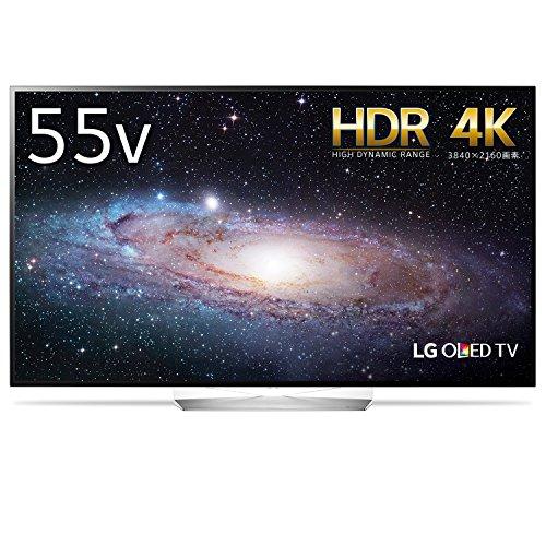 LG 55V型 4K 対応 有機EL テレビ HDR対応 有機...