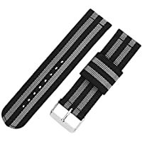 18mm 20mm 22mm 24mm Fashion Men Women Nato Style Nylon Watch Bands Watch Straps Replacement Braided Band