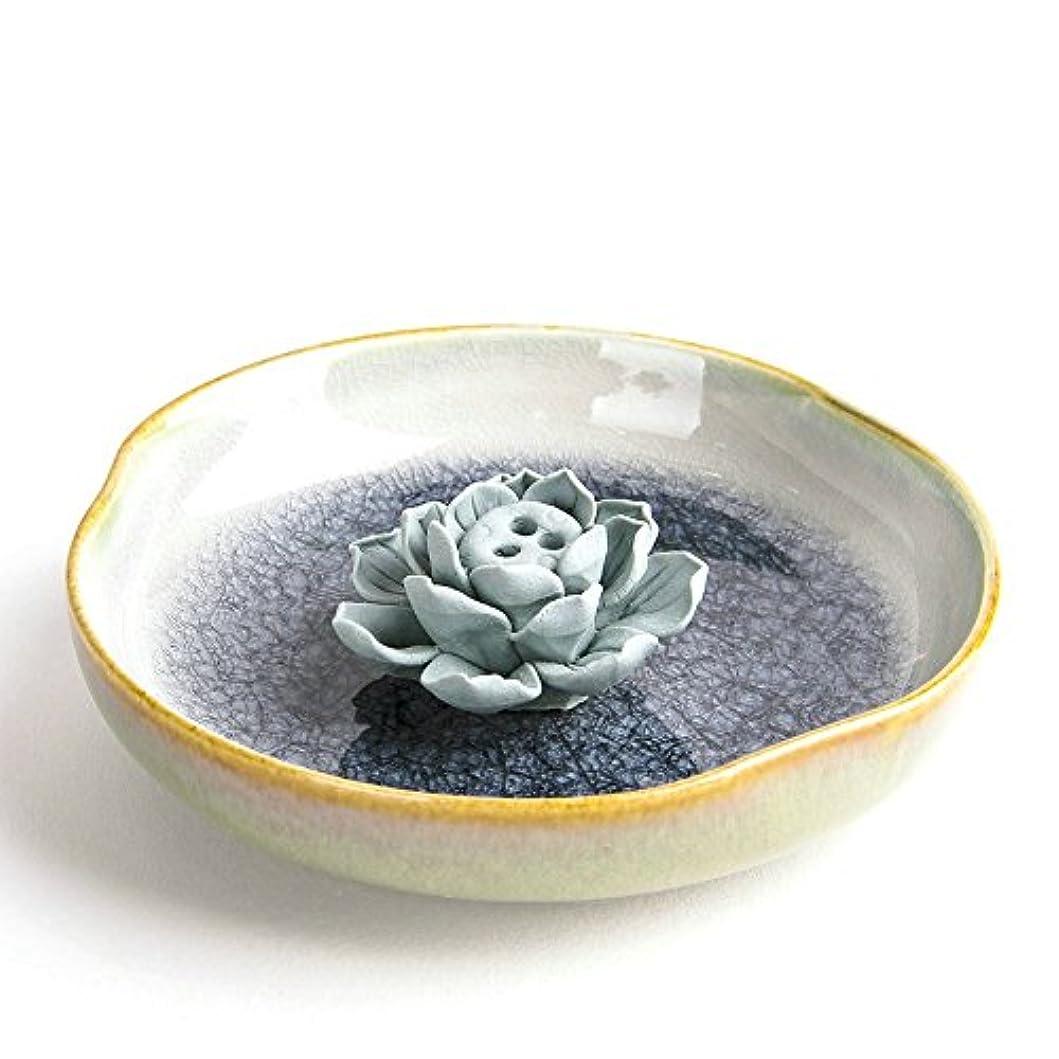 拡張過度の耐久お香立て お香たて 香の器 お香を焚いて 香皿,陶磁器、黒