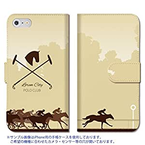 301-sanmaruichi- iPhoneSE ケース iPhone5s ケース iPhone5 ケース 手帳型 おしゃれ 競馬 乗馬 馬 手帳ケース