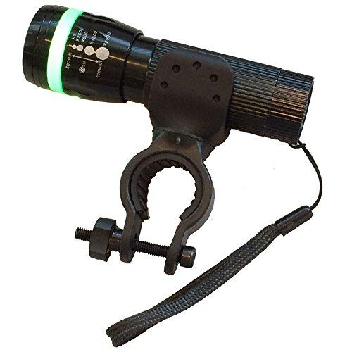 強力なLED自転車ライト LED懐中電灯&ライトホルダーセッ...